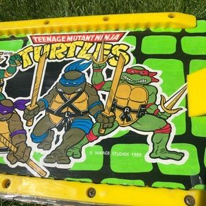 1989 Teenage Mutant Ninja Turtles Skateboard TMNT
